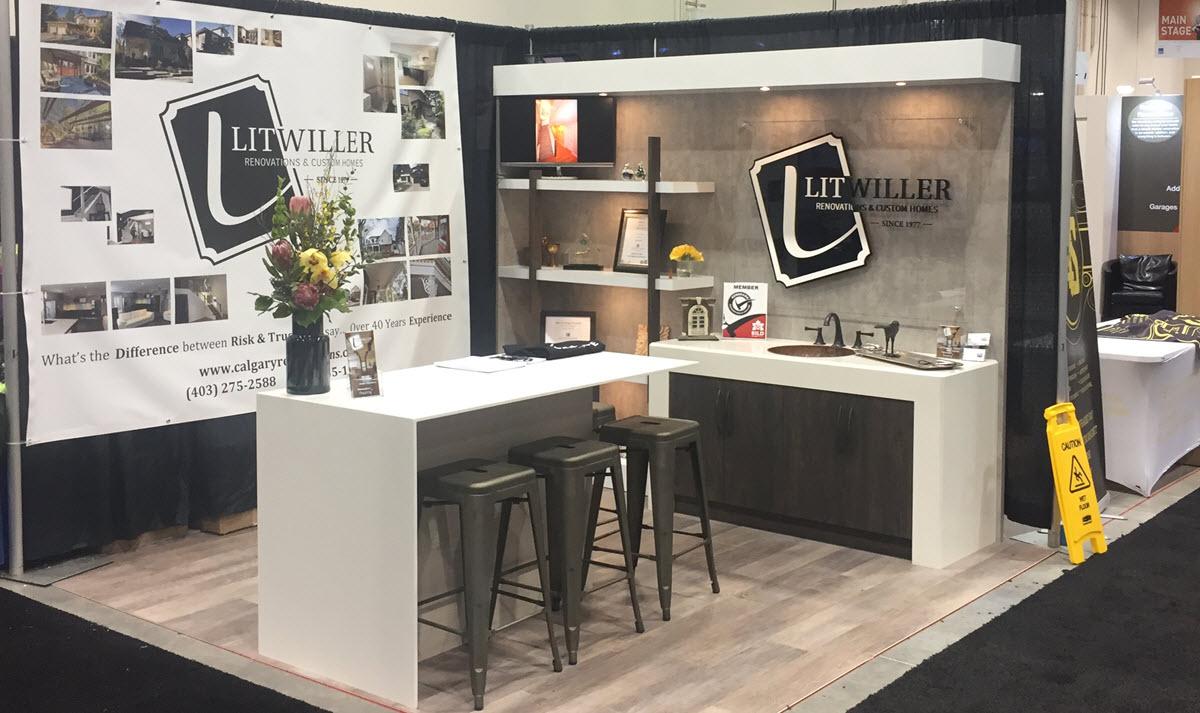 The Calgary Home Renovation Show 2018 A Success For Litwiller Renovations Litwiller Renovations Custom Homes