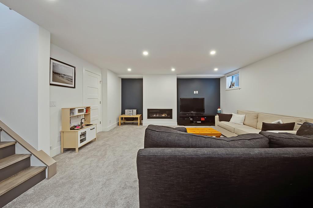 Lakeview basement reno